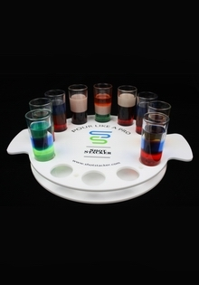 Tray-9 Dif Drinks